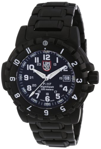 Luminox LU6402 F-117 Nighthawk Valjoux Bracelet Men's Watch