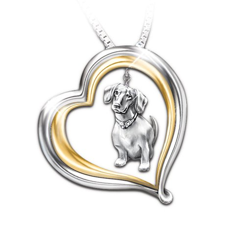 Loyal Companion Dog Lover Necklace