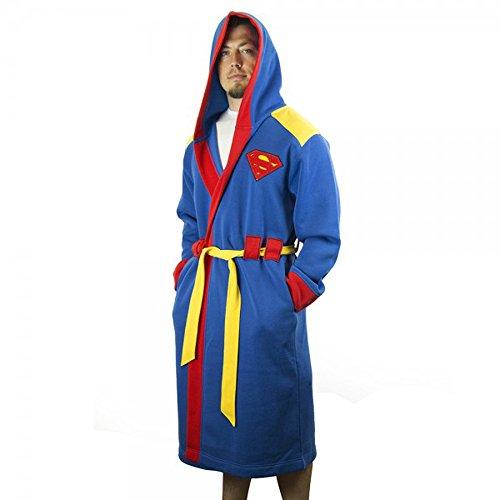 DC Comics Superman con cappuccio accappatoio with cintura Multicolore