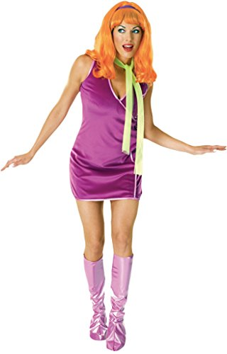 Rubies Womens Daphne Scooby-Doo 60'S Mod Hippie Retro Halloween Fancy Costume