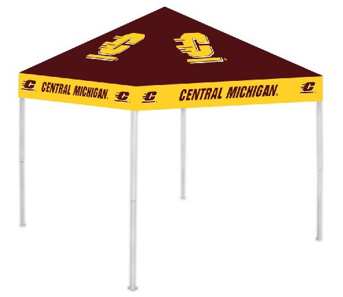Rivalry NCAA Central Michigan Chippewas Canopy Top
