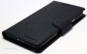 Mercury Goospery Case Fancy Diary Flip Wallet Cover Oppo Neo7 Black For KTS