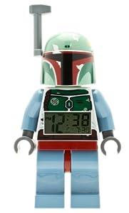 LEGO 9003630 Star Wars Boba Fett Minifigure Clock