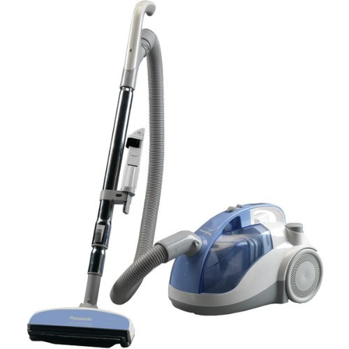 New Panasonic MC-CL310 Bagless Canister Vacuum Cleaner, Light Blue finish