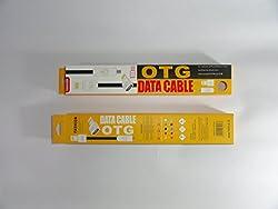 Fashion Dual Cable OTG/Data Micro USB/iPhone