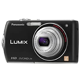 Panasonic DMC-FX75K 14.1MP Digital Camera with 5x Optical Image Stabilized Zoom with 3 inch LCD (Black)