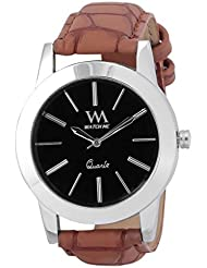 Watch Me Black Genuine Leather Analogue Watch For Men WMAL-025-B