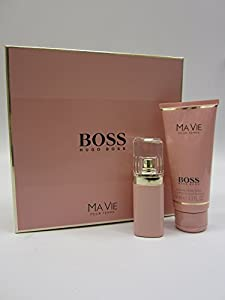 HUGO BOSS MA VIE 30ML EAU DE PARFUM & 100ML PERFUMED BODY LOTION GIFT SET / COFFRET