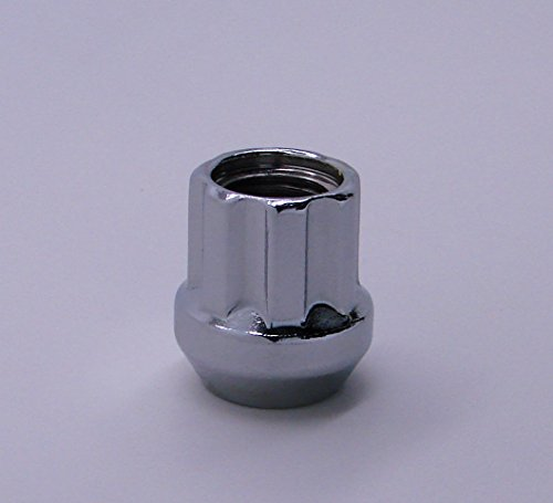 "Accuwheel Lns-B14200Co Small Diameter Acorn Spline Drive Open-End Chrome Lug Nuts Bulk Quantity (14Mm X 2.0 Thread Size) 1.0"" Tall - Pack Of 100 Lugnuts"