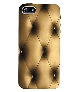 Fuson 3D Printed Pattern Designer Back Case Cover for Apple iPhone 5S - D1048