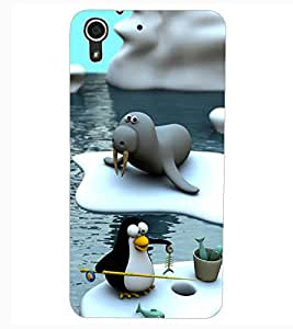 ColourCraft Cartoon Design Back Case Cover for HTC DESIRE 626