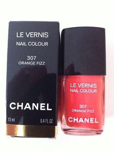 Chanel Le Vernis Nail Colour 307 Orange Fizz