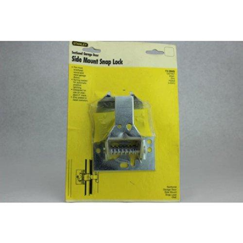 Garage Door Side Mount Snap Lock Stanley Garage Door Hardware 73-0945 Zinc Steel (Stanley Garage Cabinets compare prices)