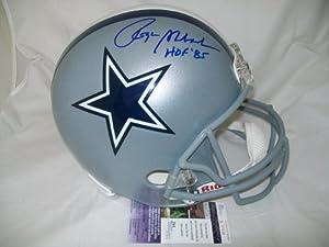 Roger Staubach Autographed Helmet Full Size Jsa Coa Dallas Cowboys Signed -... by Sports Memorabilia