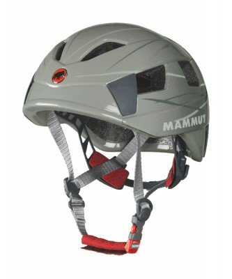 Mammut Tripod 2 Climbing Helmet (Steel-Light Grey, 53-61 cm)