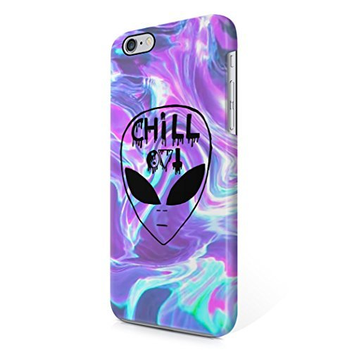 Chill Alien Space Tye Dye Colorful Soap Film Holographic Trippy Tumblr Hard Plastic iPhone 6 / iPhone 6S Phone Case Cover (Tye Dye Cases For Iphone 5s compare prices)