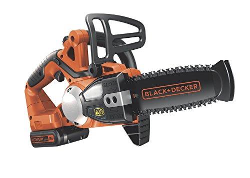 Black-Decker-18V-20Ah-Lithium-Ionen-Akku-Kettensge-20cm-Schwertlnge-16cm-Schnittbreite-Ersatzkette-GKC1820L20K