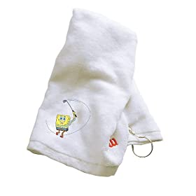 Wilson SpongeBob Golf Towel