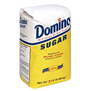 Amazon.com : DOMINO GRANULATED PURE CANE WHITE SUGAR 4 LB BAG