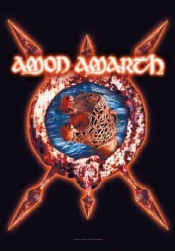 Poster Bandiera Amon Amarth Ship