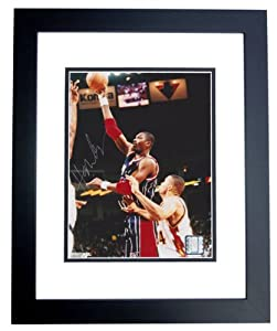 Hakeem Olajuwon Autographed Hand Signed Houston Rockets 8x10 Photo - BLACK CUSTOM... by Real Deal Memorabilia