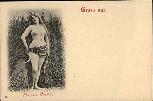 prinzess-chimay-women-original-vintage-postcard