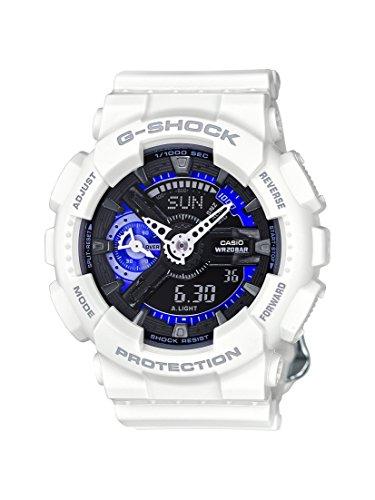 Casio G-Shock Black Dial Resin Multi Quartz Ladies Watch GMAS110CW-7A3