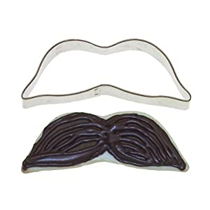 Mustache Cookie Cutter - 4 Inches