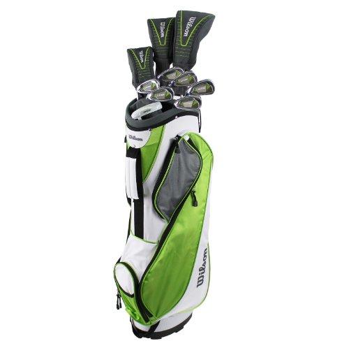 Wilson Ultra Women's Standard Left-Handed Golf Club Set With Bag