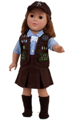 18 Inch Doll Clothes Like Brownie Girl's Club Outfit - Fits 18