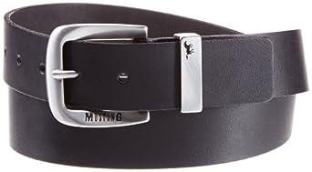 Mustang - Ceinture - Homme - Noir (Black 440) - FR : 12/2 (Taille fabricant : 100)