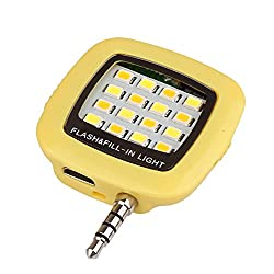 Portable Mini 16 Leds LED Selfie Flash Fill Light Rechargeable for all Smartphones