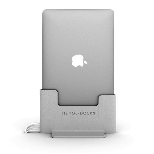 Henge Docks - Docking station per Apple MacBook Pro da 15 pollici, con display Retina, colore: grigio