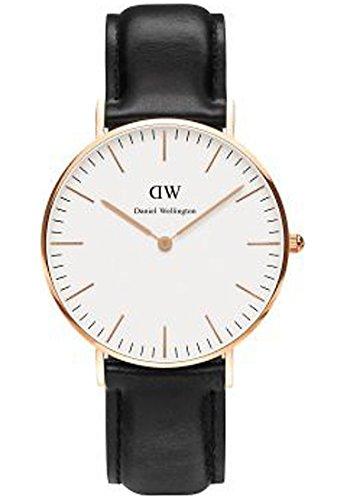 Daniel-Wellington-Damen-Armbanduhr-Analog-Quarz-One-Size-wei