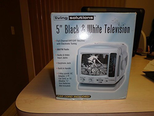 Living-Solutions-5-Black-White-Television