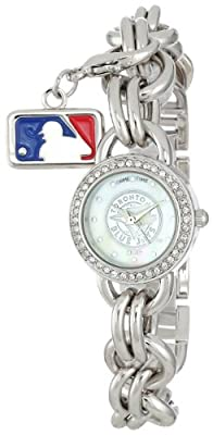 "Game Time Women's MLB-CHM-TOR ""Charm"" Watch - Toronto Blue Jays"
