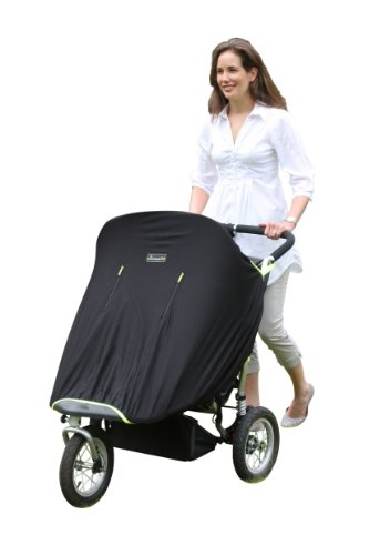 SnoozeShade Twin - twin stroller breathable blackout