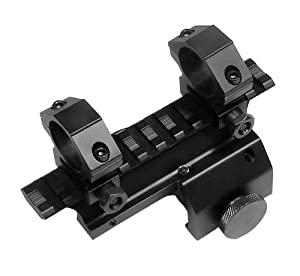 UTG Mini-14 Weaver Style Mount With 1 -Inch Rings