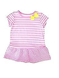 Carter\'s Girls Pink Multi-Print Tunic Top (4T)