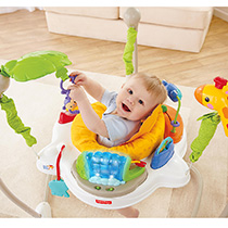 Baby in jumperoo
