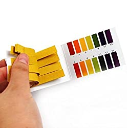 2PCs 160 Litmus Paper Test Strips Alkaline Acid pH Indicator Testing Kit
