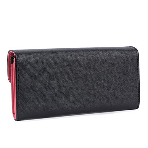 Fashion Women's Love Heart Button Faux Leather Clutch Wallet Multi-Card Purse new fashion purse wallet female famous brand card holders cellphone pocket gifts for women money bag clutch coin purse ladies