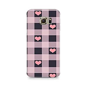 Mobicture Checksy Hearts Premium Printed Case For Samsung Note 7