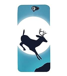 Deer Design 3D Hard Polycarbonate Designer Back Case Cover for HTC One A9