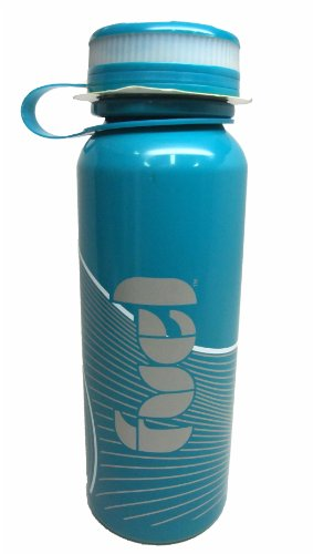 Trudeau Fuel Stainless Steel Reusable Water Bottle 27 Oz (Blue) front-25110