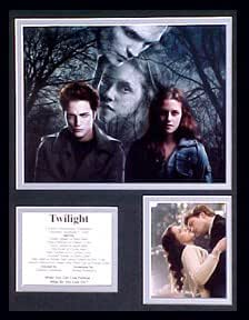 Twilight/II Collectors Photo Presentation Framed