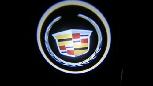 Cadillac cadi Ghost Door Logo Projector Shadow Puddle Laser Led Lights 7w (Qty 2) FROM USA (Dub Spinners Wheels compare prices)