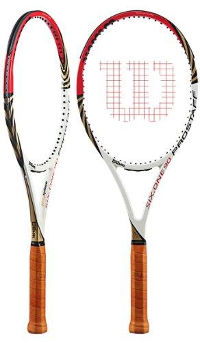 (ウイルソン)Wilson Pro Staff Six One 90 BLX/2012年/プロスタッフ シックス ワン 90 ビーエルエックス /フレームのみ/硬式テニスラケット[並行輸入品] (グリップサイズ 2 (フレームのみ))