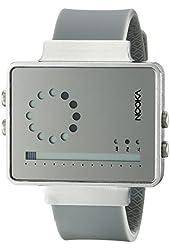 Nooka Unisex ZIRCVMR Digital Display Quartz Grey Watch