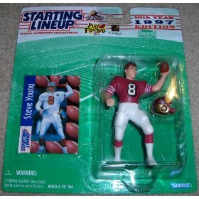 1997 Starting Lineup Football Steve Young